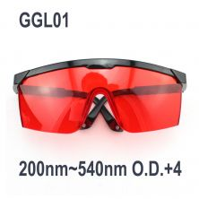 GGL01 Laser Goggles OD +4 for 200nm-540nm UV/Blue/Green Lasers