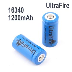 UltraFire Rechargeable 16340 3.7V 1200mAh Battery
