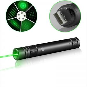 Lazyboy Laser Pointer with Built-in Battery and USB Charger