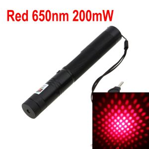 BLP-303 Class 3B Handheld 200mW 650nm Red Burning Laser Pointer