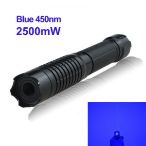2500mW 450nm Blue Laser Pointer B009 High-Power-Burning-Laser