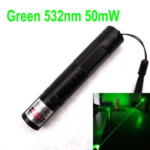 850 50mW 532nm Green Laser Pointer Fixed-Focus