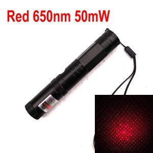 851 50mW 650nm Red Laser Pointer Interchangeable-Starry-Lens