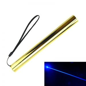 1500mW 445nm Blue High Power Burning Laser Pointer Copper-Shell